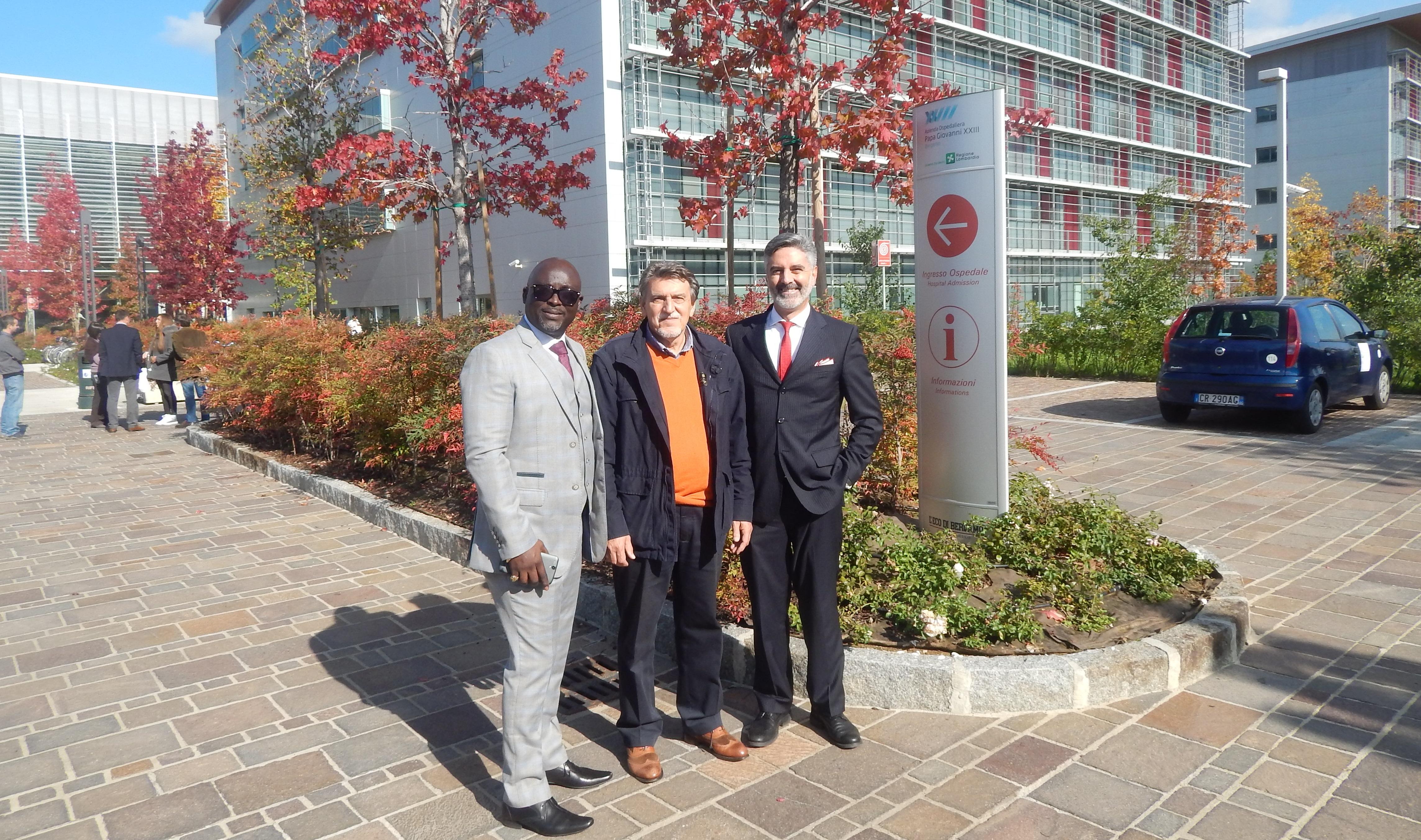 EcoMedical Meets Bergamo Hospital