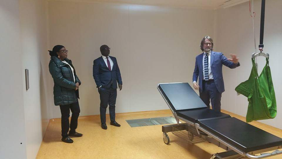 New Chairperson visits Partners