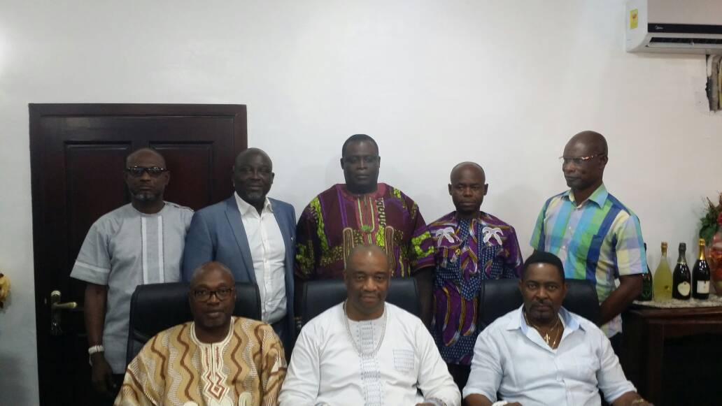 Ga Mantse Visits Eco-Medical Village Head Office, Accra Ghana