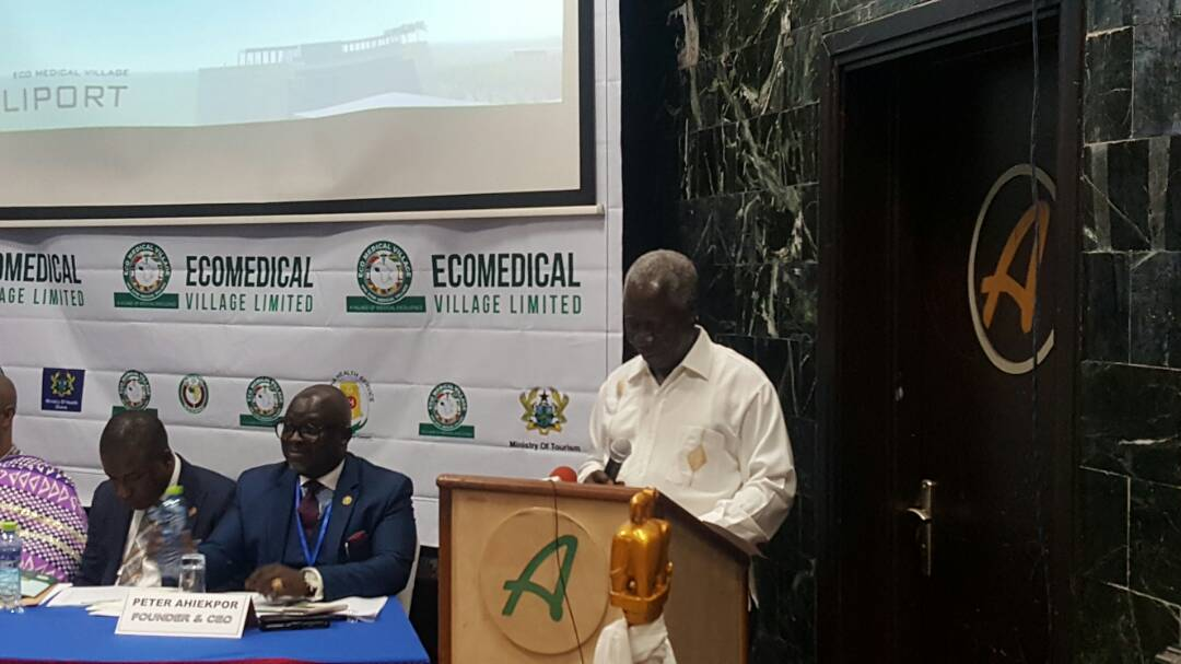Eco Medical Village Project formally launches in Accra Ghana ahead of Sod Cutting and Construction